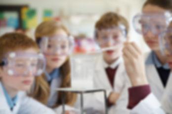 Estudantes da química
