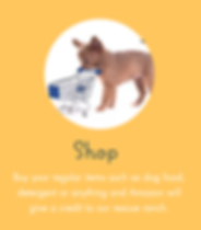 Shop to save a rescue dog