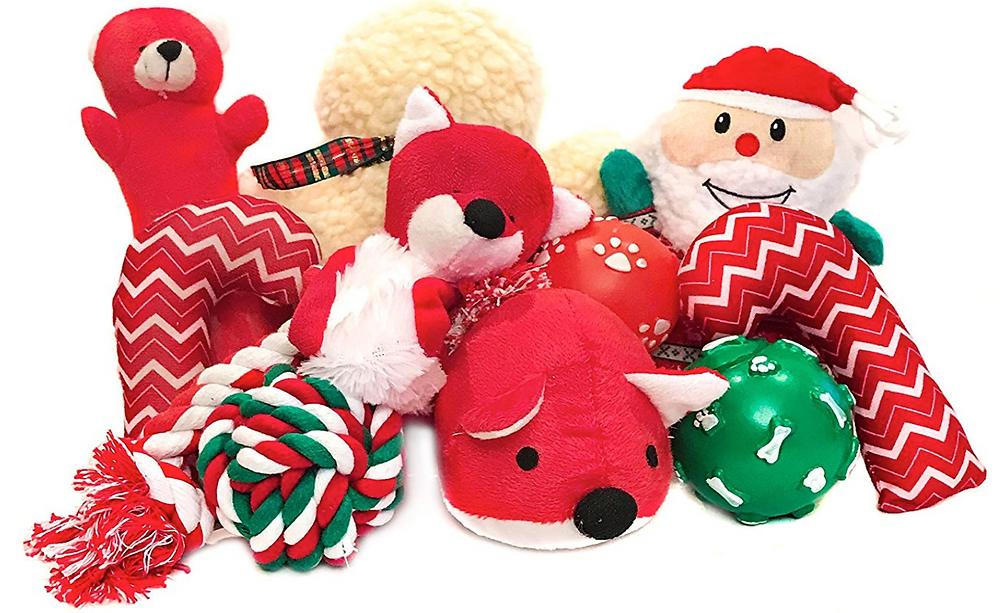 Dog Christmas Plushies Toys