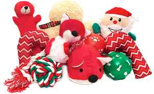 Dog Christmas Plushies Toys