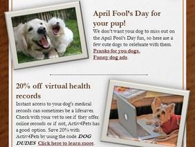 April's Dog Dude News
