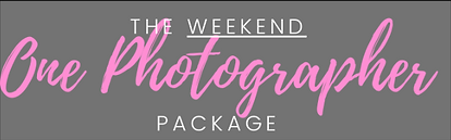 4. One Photographer Weekend Package.PNG