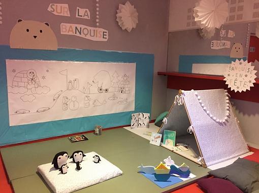 banquise espace jeux livres accueil enfants
