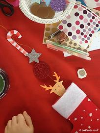 ateliers créatifs enfants Noël