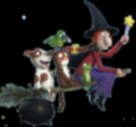 la sorciere dans les airs personnages.pn
