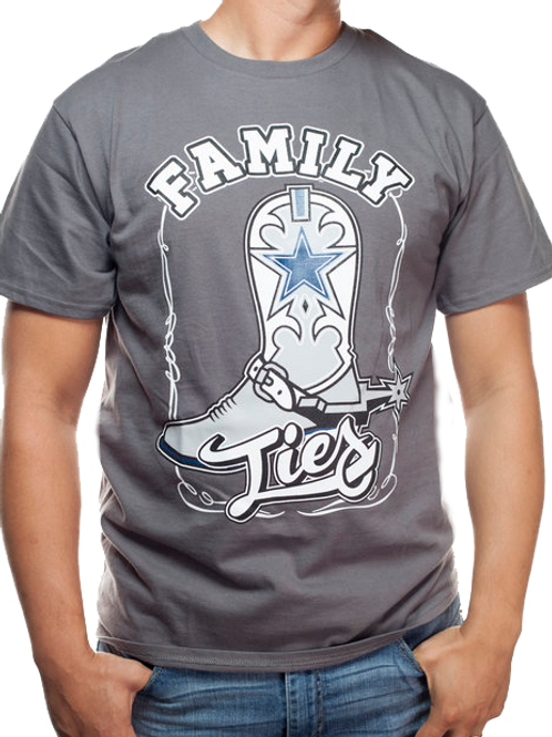 Family Ties T-Shirt (Grey)