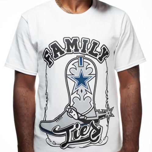 Family Ties T-Shirt (White)