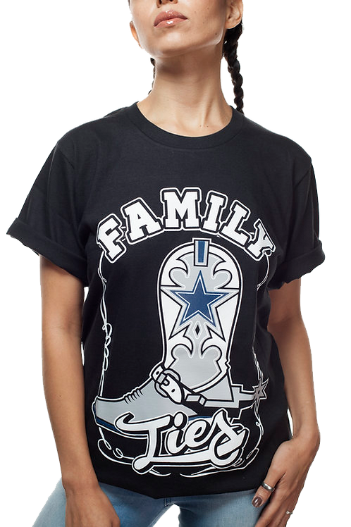 Family Ties T-Shirt (Black)
