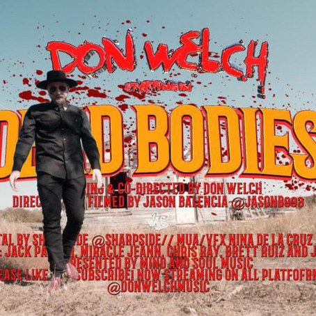 """Don Welch Drops """"Dead Bodies"""""""