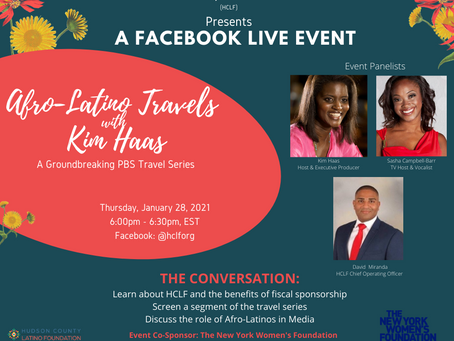 Afro-Latino Travels with Kim Haas FB Live Event