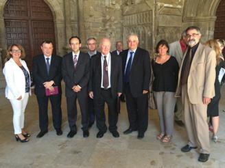 Josep Maria Coll i Alemany, professor emèrit de la Facultat de Filosofia-URL, rep la distinció Jaume