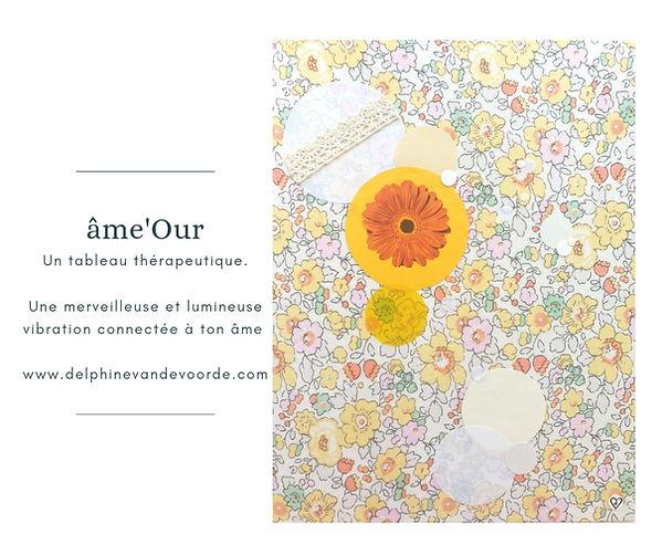 """Tableau Âme-Our """"Amour"""""""