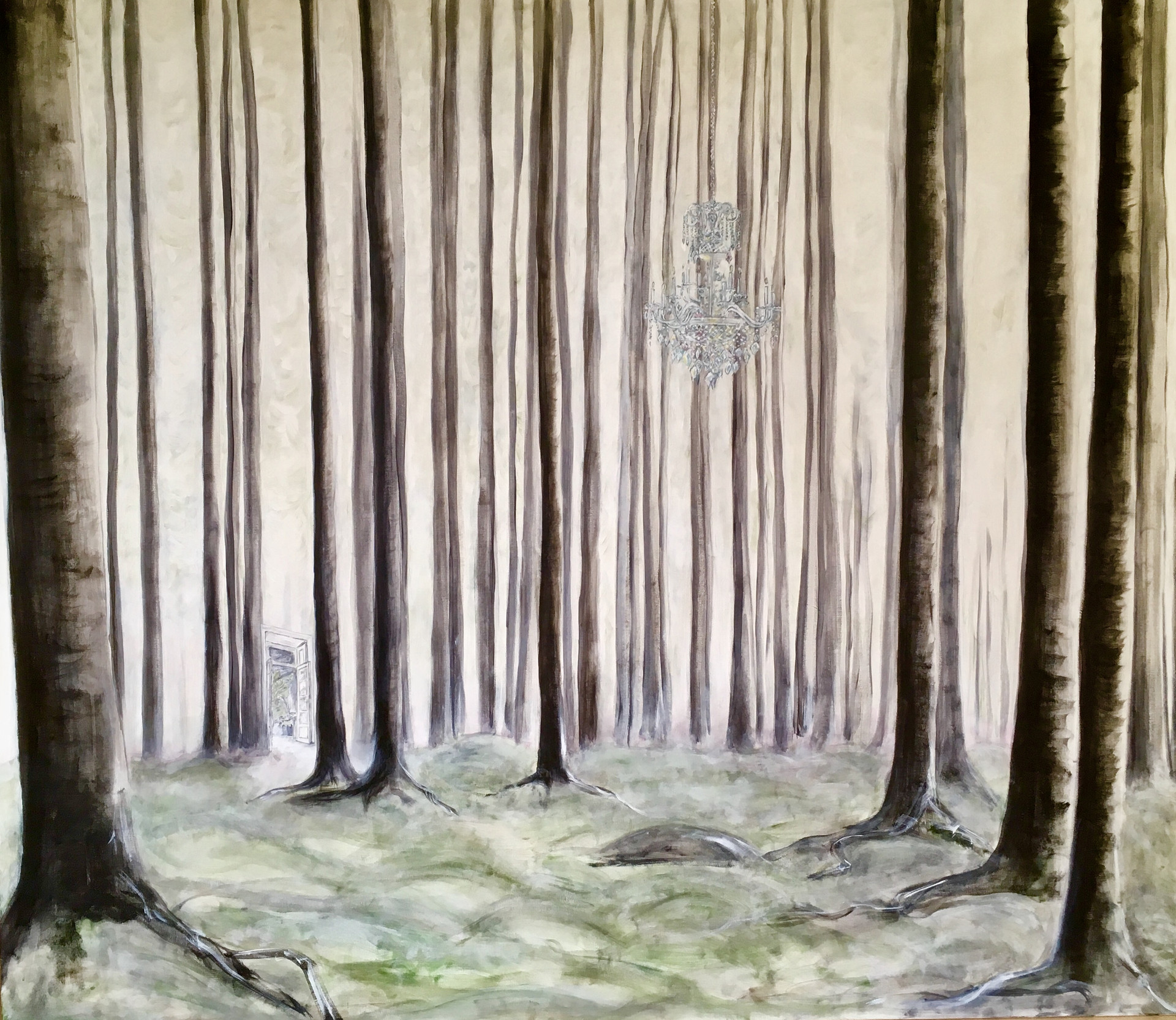 SOLGT Skoven er min verdens fire vægge