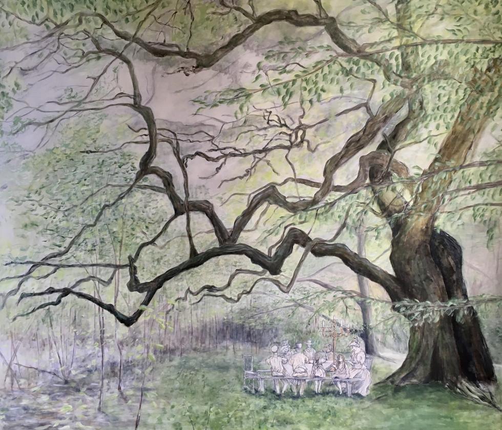 Historien om det gamle egetræ og pigen der vidste mere end andre