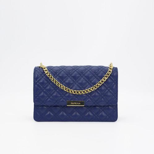PPK Quilted Crossbody Bag-Dark Blue 5527de3f48529