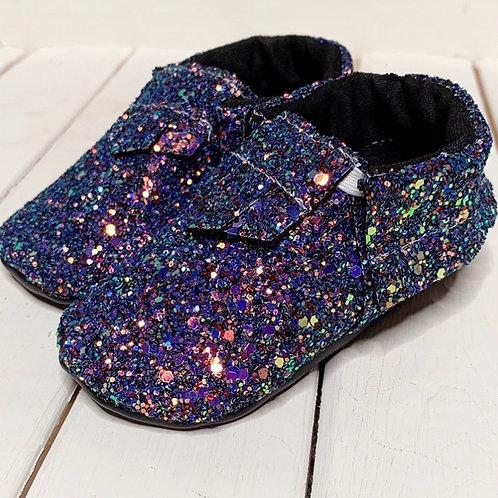Magician Glitter moccasins