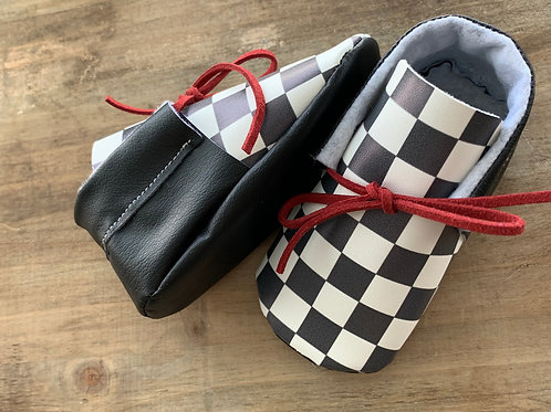 Hipster Checkered Oxfords