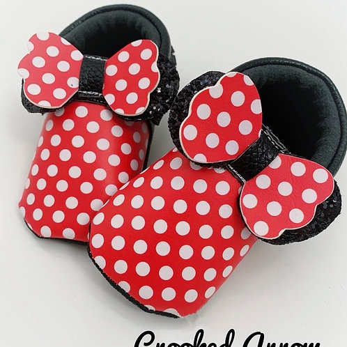 Cute Mouse moccasins