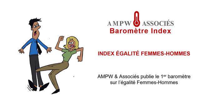 Le 1er Baromètre sur l'Index d'Egalité Femmes-Hommes