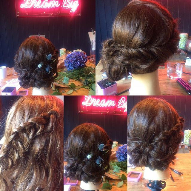 Bridal braids in Surrey