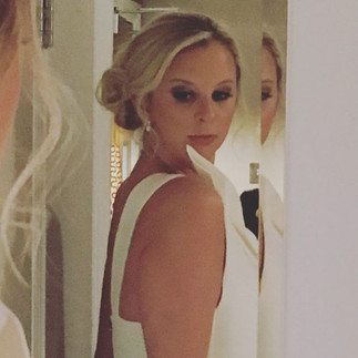 Engagement hair and makeup in Knightsbridge