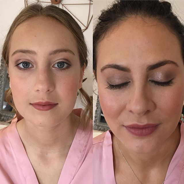 Bridesmaids makeup at Bury Court