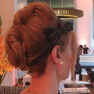 1960s hair up for event