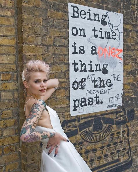 Street Art Bridal shoot