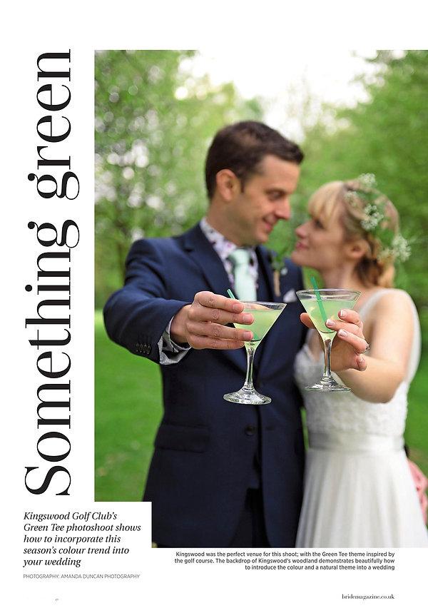 Surrey Bride - Campervan shoot