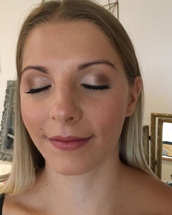 Golds and browns for bridesmai