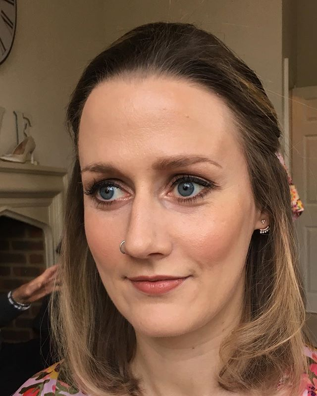 Bridesmaid makeup at Nonsuch Mansion