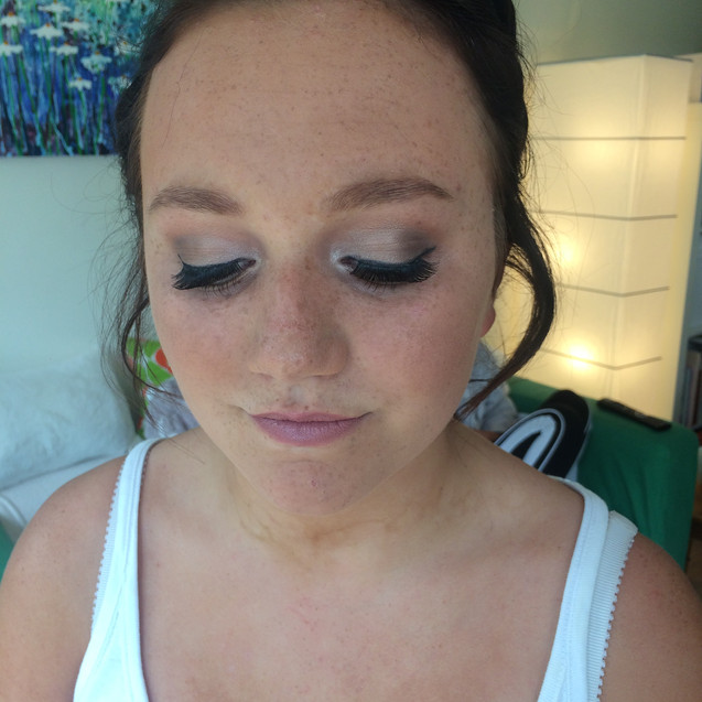 Prom makeup in Banstead