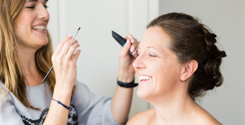 Bridal makeup in Sussex