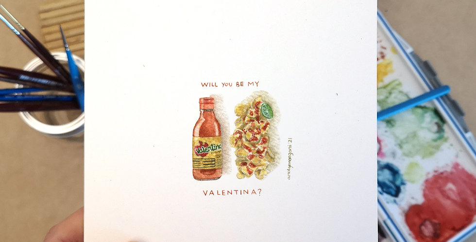 Be My Valentina