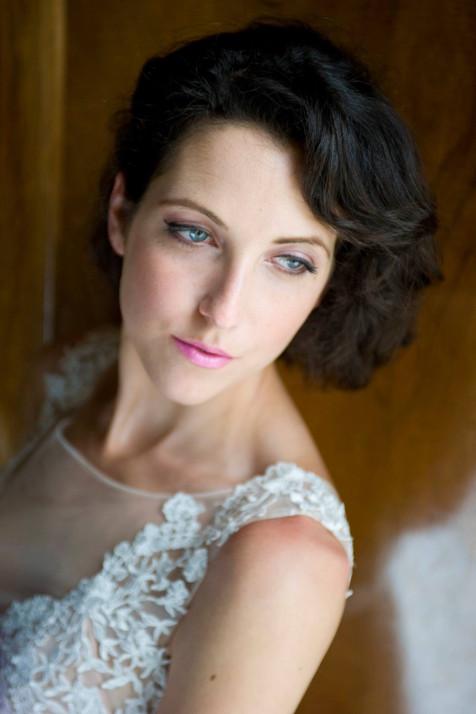Bridal makeup at Gatton Park