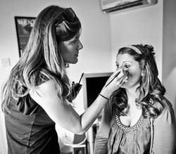 Wedding makeup Swan Inn Chiddingfold