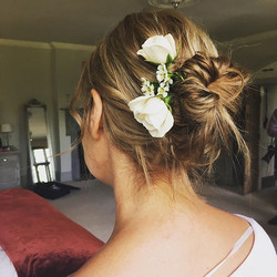 Messy bridal bun - Smallfield Place
