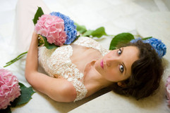 Bridal shoot at Gatton Park