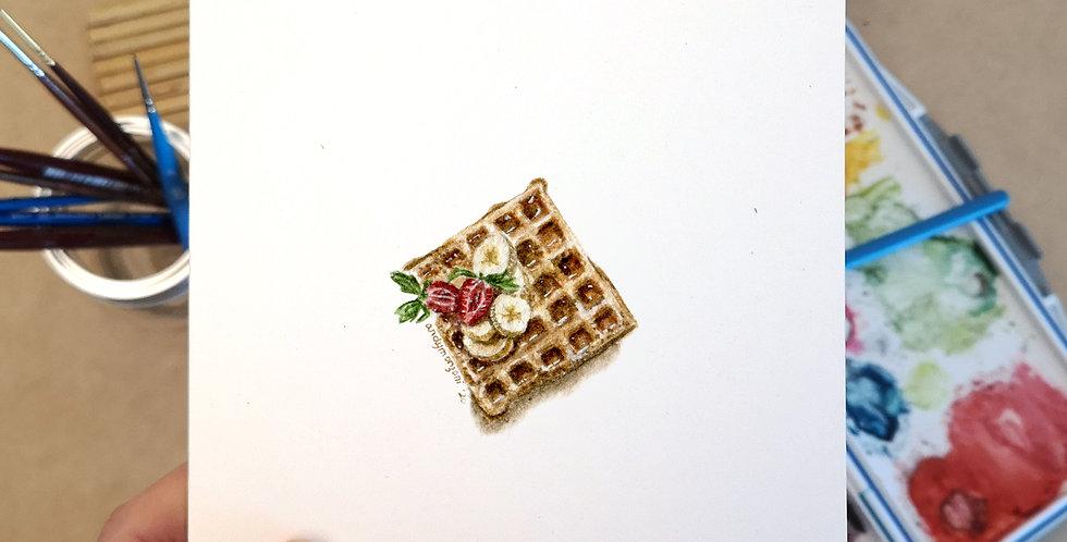 Banana Strawberry Card