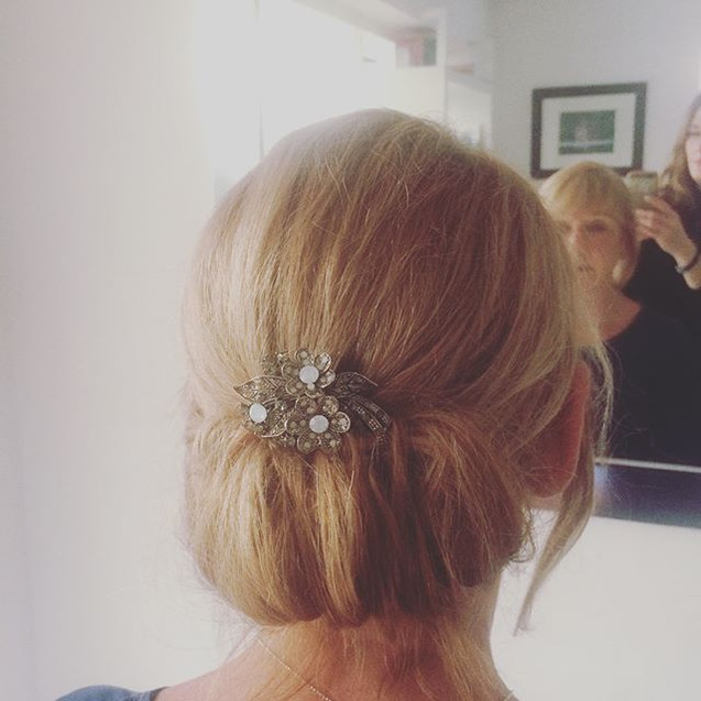 Event hair up