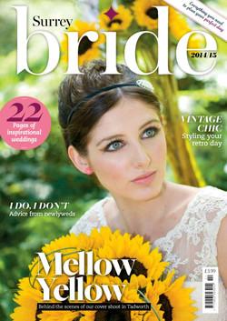 Surrey Bride Magazine cover