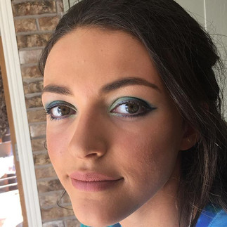 It's so fun to be bold with event makeup