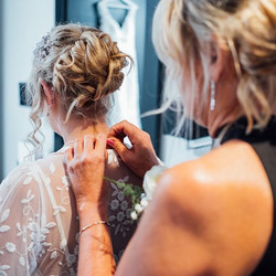 Bride & Mother of the bride hair