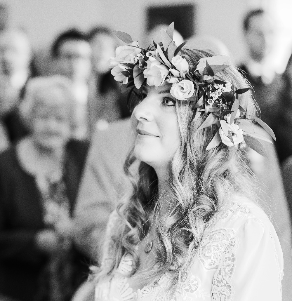 Boho bridal hair & Makeup, Surrey