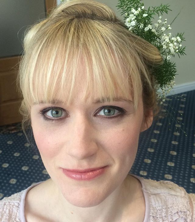 Pinks & mauves for bridal makeup