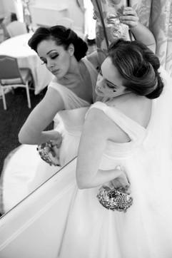 Ballroom bridal shoot