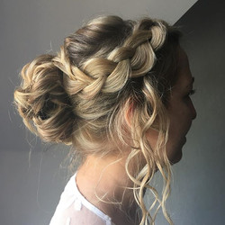 Beautiful Braided bridal hair
