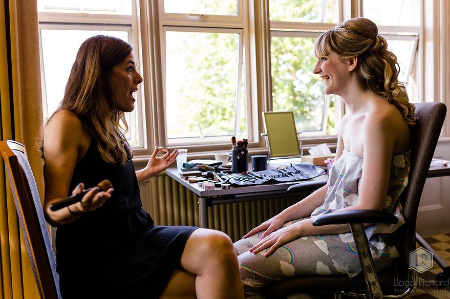 Wedding makeup - Hartsfield Manor