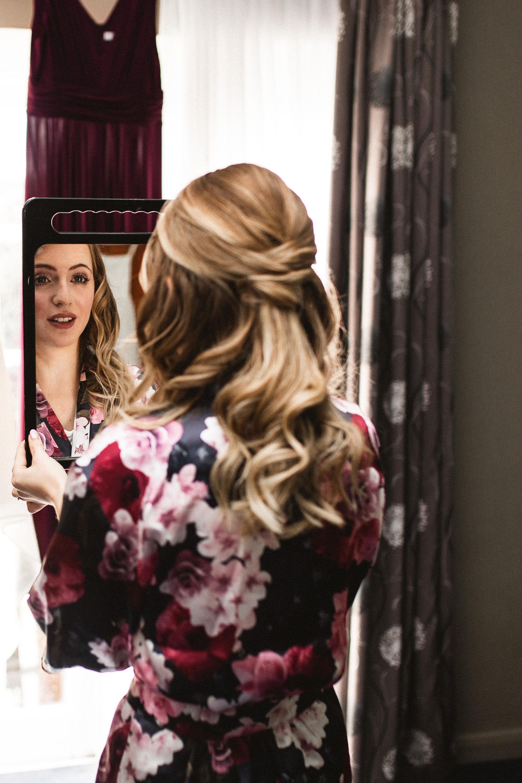 Bridal hair and makeup Lythe Hill Spa
