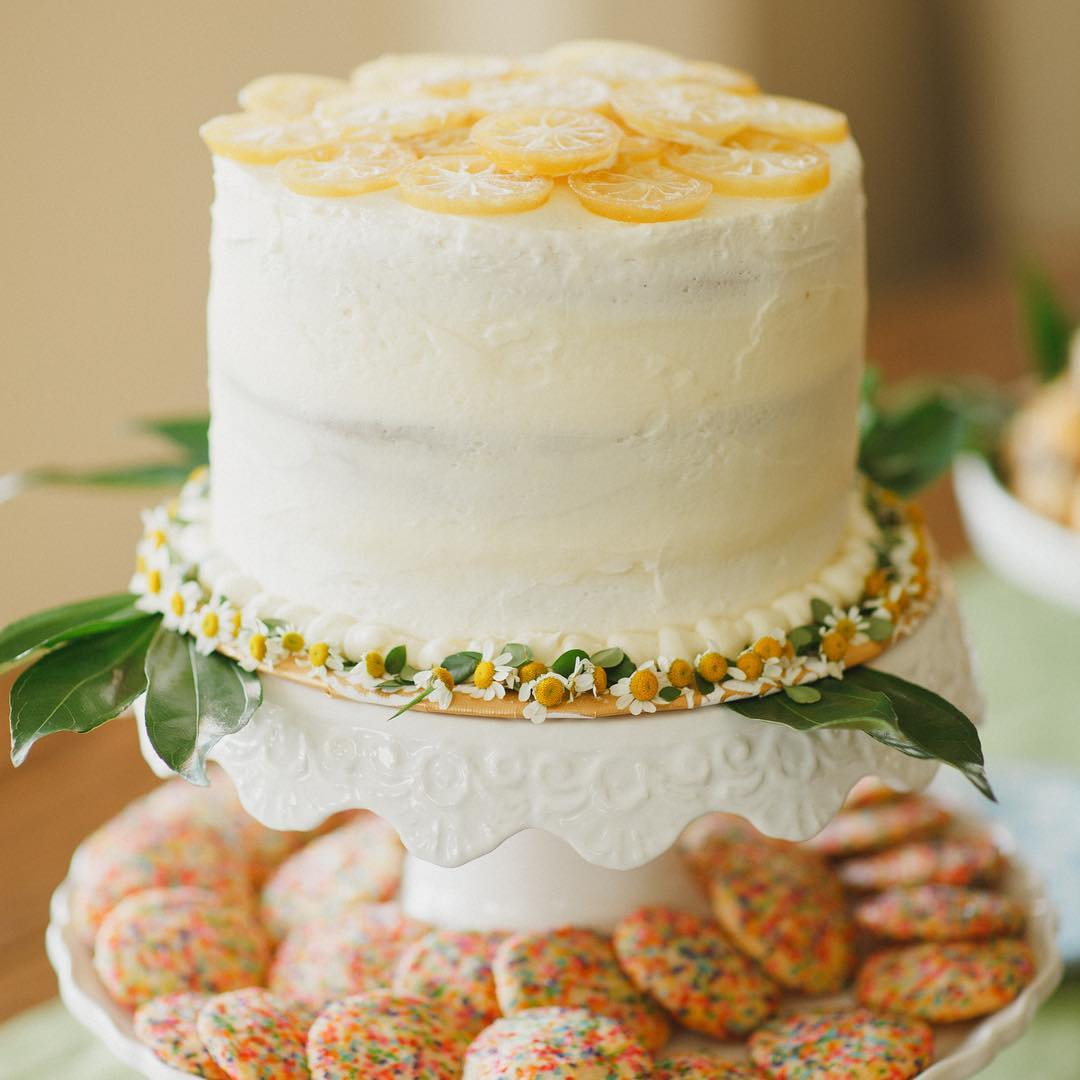 Bridal Shower Lemon Cake